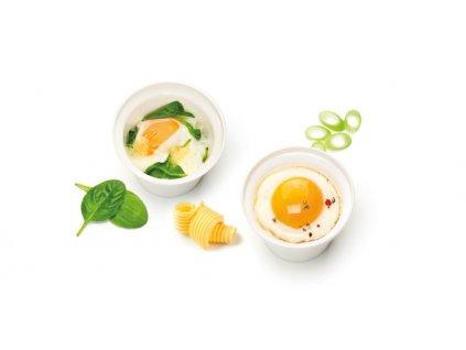 Miska na varené vajcia PURITY MicroWave, 2 ks