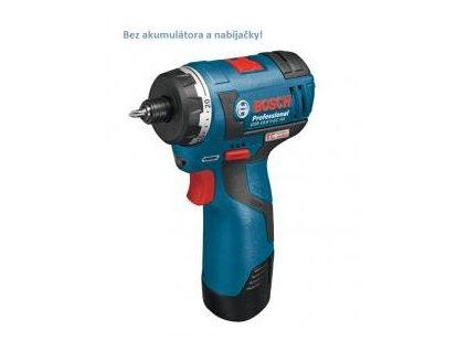 Aku vŕtací skrutkovač Bosch GSR 10,8 V-EC HX Professional (holé náradie)  SERVIS EXCLUSIVE | Rozšírenie záruky na 3 roky zadarmo