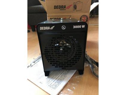 DEDRA DED9921A Elektrický ohrievač 3000 W  + SERVIS EXCLUSIVE + VOUCHER- zľavový kupón