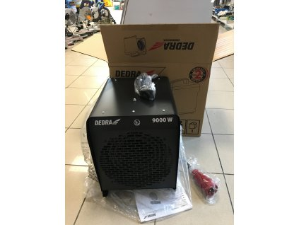 DEDRA DED9924A Ohrievač vzduchu elektrický 9kW 400V  + SERVIS EXCLUSIVE + VOUCHER- zľavový kupón