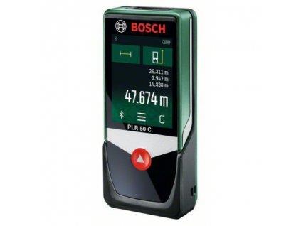 BOSCH PLR 50 C Laserový merač vzdialeností  SERVIS EXCLUSIVE + VOUCHER - zľavový kupón