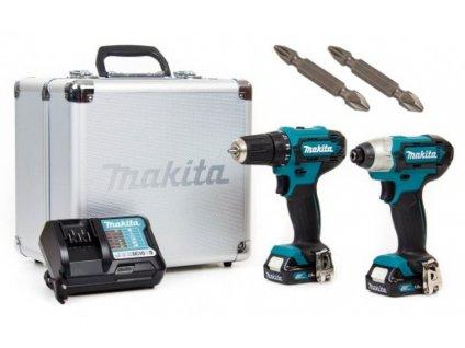 MAKITA CLX224X Sada akumulátorového náradia  SERVIS EXCLUSIVE Rozšírenie záruky na 3 roky zadarmo