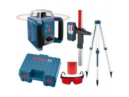 Rotačný laser Bosch GRL 400 H Set + BT170HD + GR240  SERVIS EXCLUSIVE | Rozšírenie záruky na 3 roky zadarmo