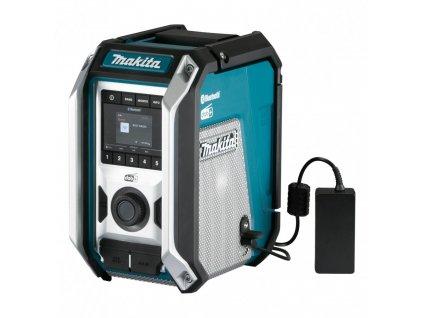 MAKITA DMR115 Akumulátorové rádio, Bez akumulátora a nabíjačky