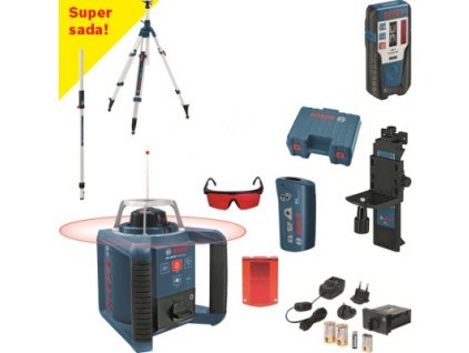 Rotačný laser Bosch GRL 300 HV Set + BT300HD + GR240 061599403Y  SERVIS EXCLUSIVE | Rozšírenie záruky na 3 roky zadarmo