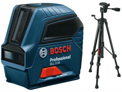 Krížový čiarový laser Bosch GLL 2-10 + BT150 06159940JC