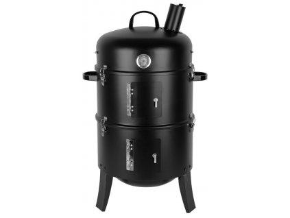 Gril BBQ Smoker, 3v1, 44x78 cm