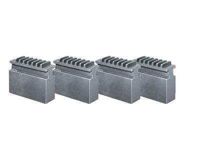 Měkké čelisti pro 4-čelisťové sklíčidlo Ø 200 mm