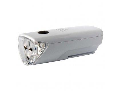 LED predné svietidlo na bicykel P3914 na 3× AAA, 25 lm