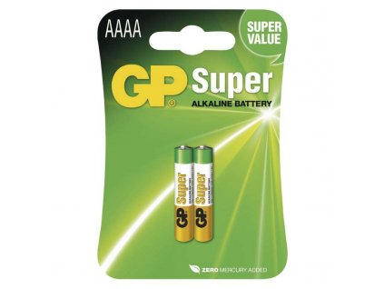 Alkalická špeciálna batéria GP 25A (AAAA, LR61) 1,5 V