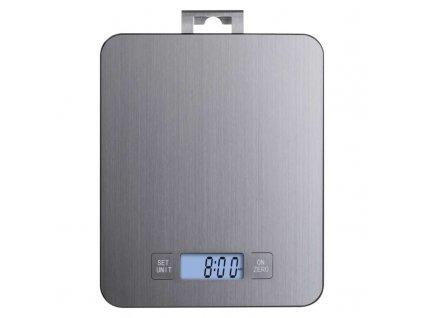 Digitálna kuchynská váha EV023, strieborná