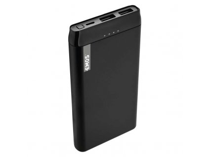 Power bank EMOS Alpha 10S, 10000 mAh, čierny