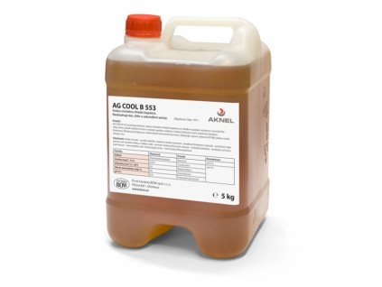 Chladiaca kvapalina AG COOL B 553, 5 kg