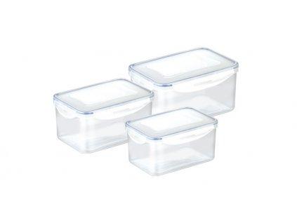 Dóza FRESHBOX 3 ks, 0.9, 1.6, 2.4 l, hlboká
