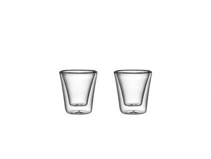 Dvojstenné poháre myDRINK, 70 ml, 2 ks