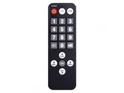 Diaľkový ovládač pre seniorov pre set-top box EM190 / EM190S