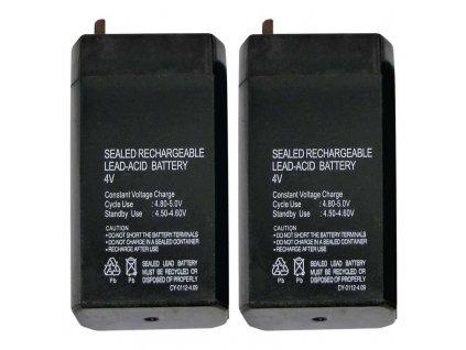 Bezúdržbový olovený akumulátor 4 V/0,7 AH
