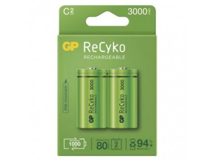 Nabíjacia batéria GP ReCyko 3000 (C) 2 ks