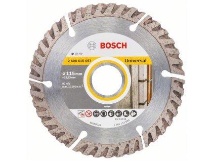 BOSCH Standard for Universal Diamantový rezací kotúč 115 × 22,23