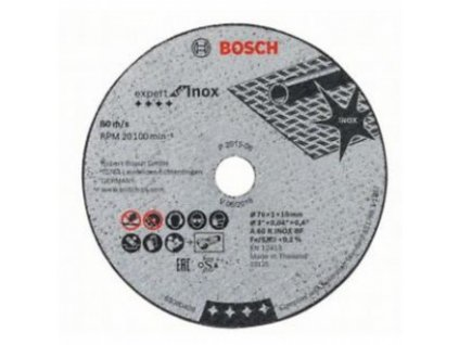 bosch rezny kotuc expert 76x10x10mm 2608601520