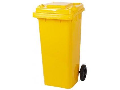 Nadoba Strend Pro GB2, 120 lit, žltá, popolnica na odpad