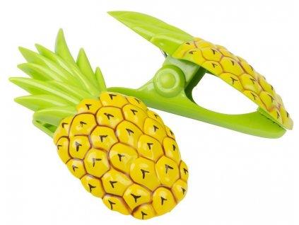 Štipce na plážové osušky, 12x7x5cm, 2 ks, ananásy