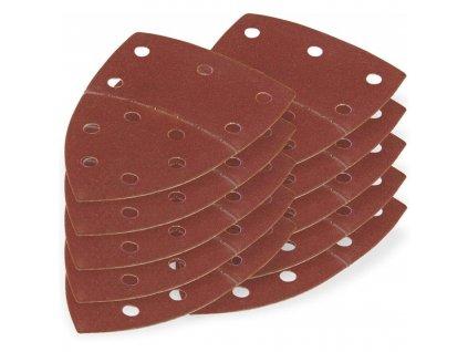 DEMA Brúsny papier pre delta brúsku 102x152 mm K180, 10 ks