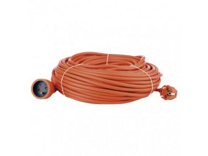 Predlžovací kábel – spojka, 40m, oranžový