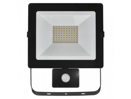 LED reflektor HOBBY SLIM s pohyb. čidlom, 50W neutrálna b.