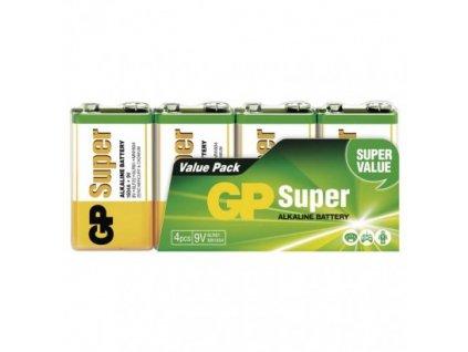 GP alkalická batéria SUPER 6LF22 4SH