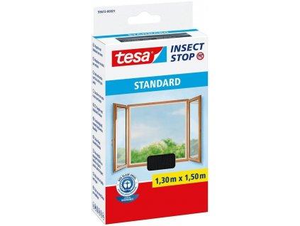 Sieť tesa® Standard, proti hmyzu, antracit, 1500 mm, L-1,5 m