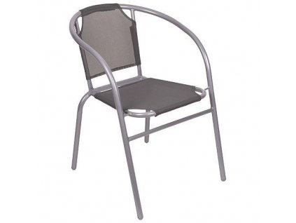 Stolicka LEQ BRENDA, šedá, 60x71 cm