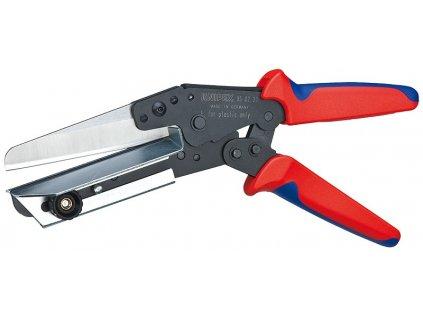 KNIPEX Nožnice na plasty Tiež pre káblové kanály 275  SERVIS EXCLUSIVE