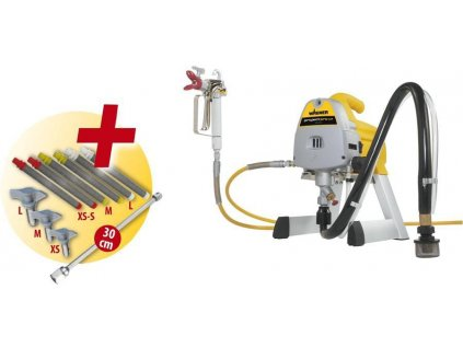 Project PRO 117 - Set vr. 2 trysiek navyše a 2 sady filtrov a predĺženie 30cm  + SERVIS EXCLUSIVE