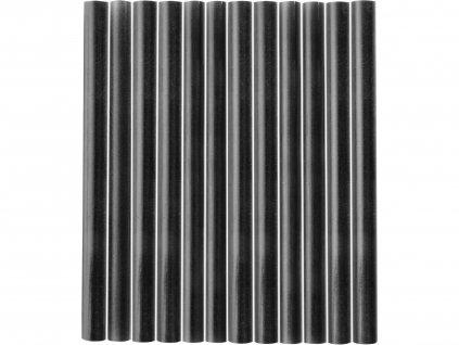 Tyčinky tavné čierne 12ks, pr.7,2mm, dĺžka 100mm