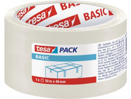 Páska lepiaca 58572, 48mmx50m, nosič PP, transparentná, Tesa