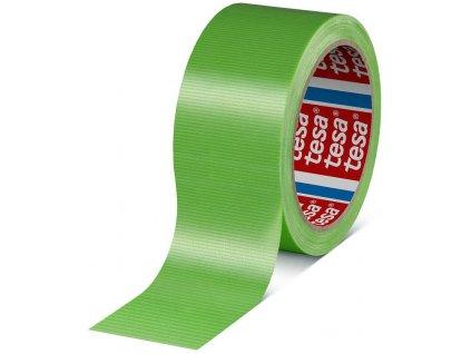 Páska lepiaca textilná 4621, 50mmx25m, nosič textil, zelená, Tesa