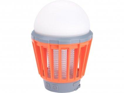 Svietidlo 3x1W SMD LED s lapačom komárov, 180lm, EXTOL LIGHT