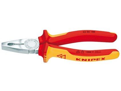 KNIPEX Kombinované kliešte 180  SERVIS EXCLUSIVE