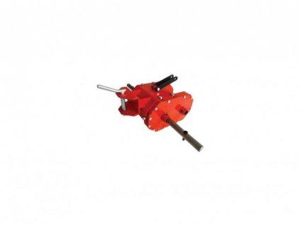 Spomaľovacia reťazová prevodovka k orbe na prevodovku priemer 75 mm