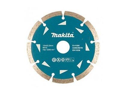 Makita D-41595 Diamantový kotúč 125mm (segmentovaný) suchý rez/betón