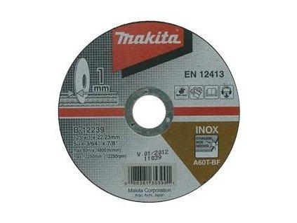 MAKITA Rezný kotúč Ø125 x 1,0 x 22mm