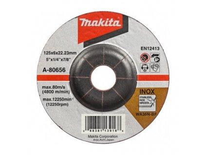 Makita A-80656 Brúsny kotúč ?125 x 6 x 22 mm