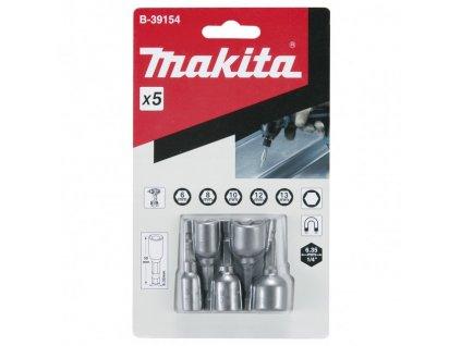 """Makita B-39154 sada nádstavcov šesťhran 1/4"""" 5-dielna"""