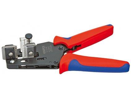 KNIPEX Presné odizolovacie kliešte s tvarovými nožmi 195