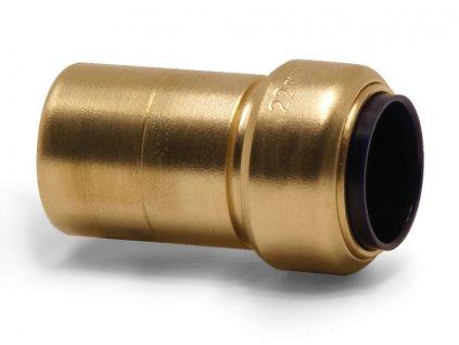Redukce (mosaz), trubka 28/18 mm