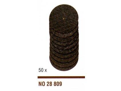 PROXXON Rezné viazané kotúče z oxidu hliníka 50ks/22mm .(28809)