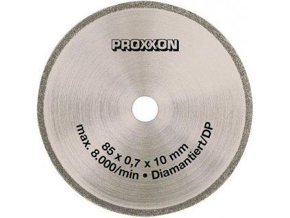PROXXON Diamantový kotúč 85 x 0,7 x 10mm 28735  SERVIS EXCLUSIVE