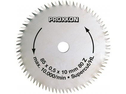 PROXXON Rezací kotúč Super Cut 85 x 0,5 x 10mm - 80 zubov .(28731)