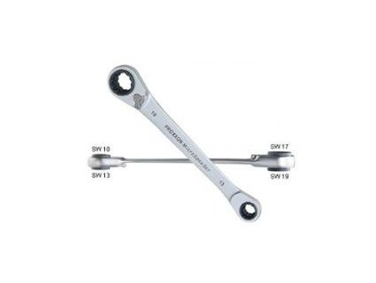 PROXXON Quadruple MicroSpeeder očkové račňové kľúče 10-13-17-19mm (23236)
